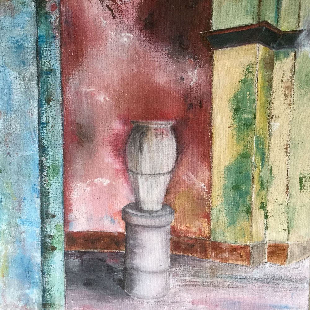 Toile peinture acrylique