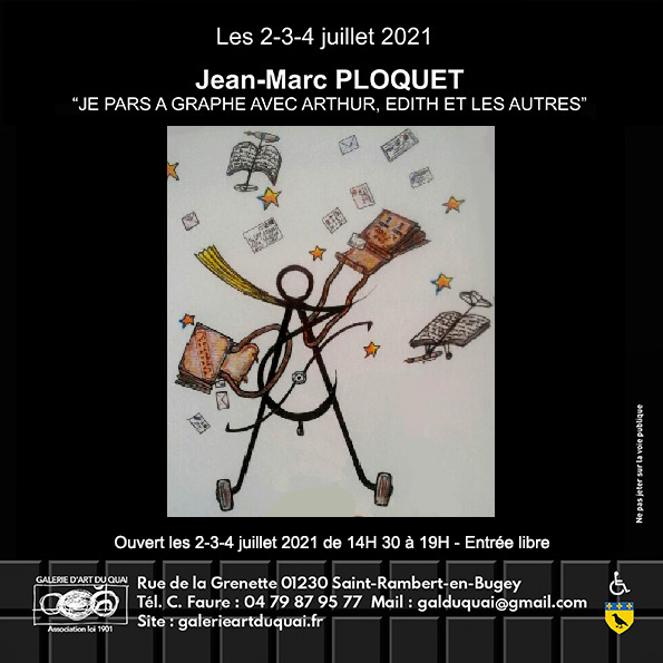 Carton Invitation Jean-Marc Ploquet