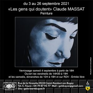 Exposition Claude Massat